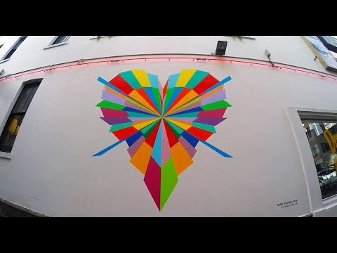 Hundred Lovers - Street Art - Auckland NEW ZEALAND
