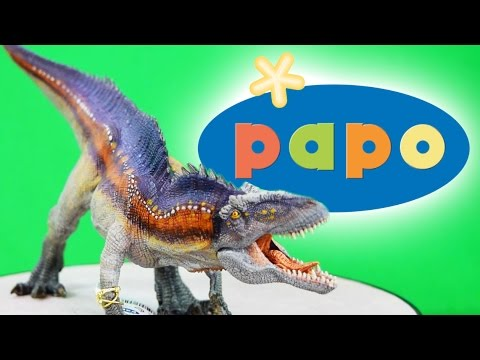 Papo® Acrocanthosaurus Review | NEW 2017 Model