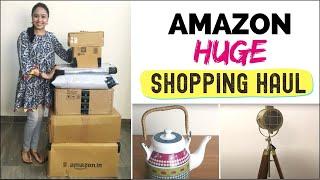 Amazon Shopping Haul 2019 | Unboxing & Product Review | Amazon India Huge Sale Shopping Haul