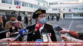 """La nouvelle préfète de police des Bouches-du-Rhône face à de """"nombreux défis"""""""