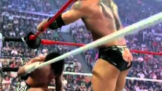 CM Punk vs Batista Highlights