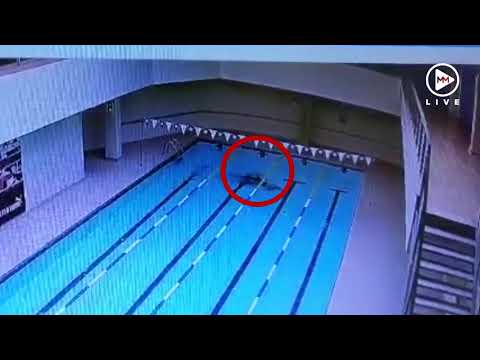 Hero! Cleaner saves drowning swimmer at gym pool