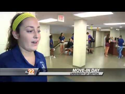 New Students Move In At The University Of Dayton Part 23