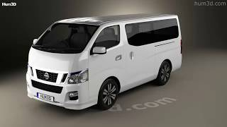 Nissan Nv350 Caravan 2012 3D model by Hum3D.com