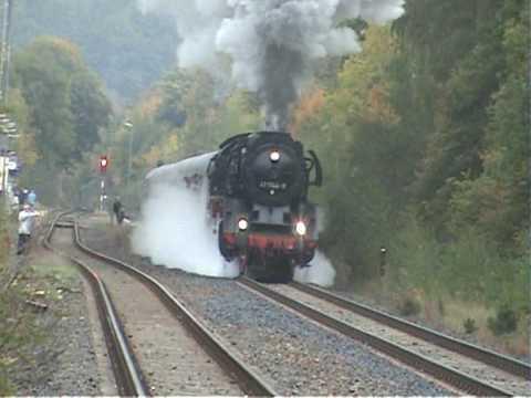 Elstertal Express at Berga / Elster September 2008