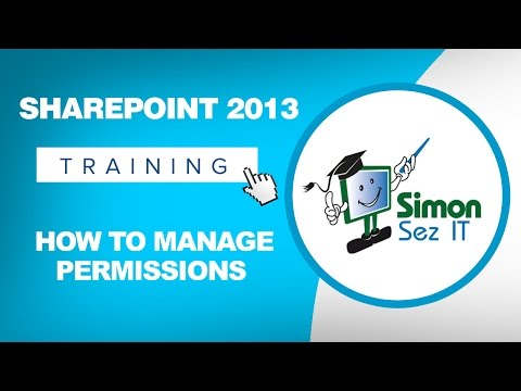 How to Manage Permissions in SharePoint 2013