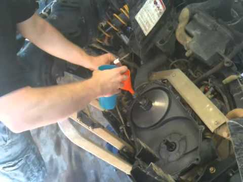 Stuck Canam Clutch Removal Trick Youtube