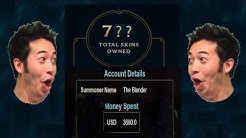 What does $3500+ look like on a League of Legends Account?