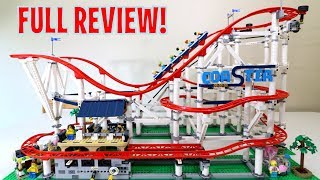 LEGO ROLLER COASTER - 10261 - Creator Expert - FULL REVIEW 2018!!