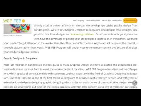 Creative Graphic Designer in Bangalore | Graphic Designer in Bangalore
