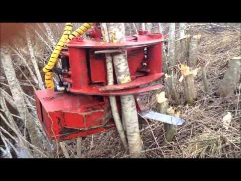 Repeat ABAB 255 Bioharvester energiklipp med kvistning by