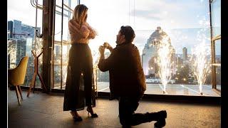 ¡La pedida de mano de mas romántica del mundo!  ♥   Karla Diaz