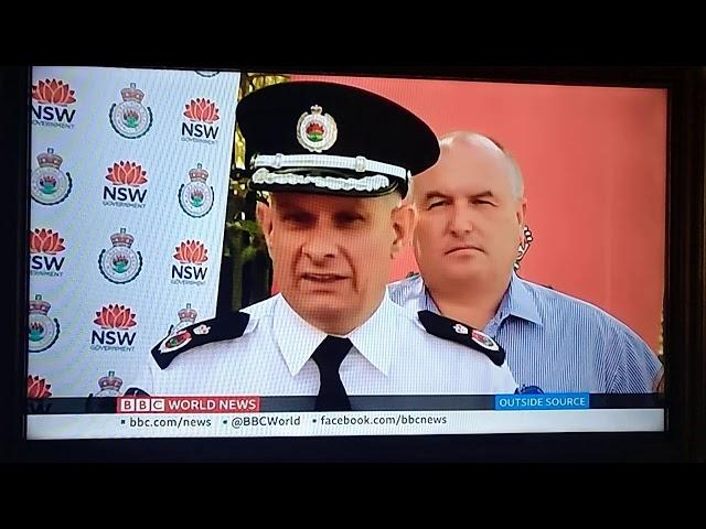 BBC on Australian bush fires