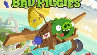 Bad Piggies HD Gameplay iPad - iPad 2 - iPad 3 - iPhone 5