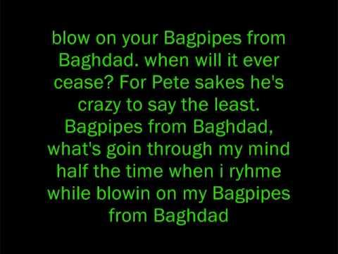 Eminem - Bagpipes From Baghdad Lyrics - eLyricsWorld.com