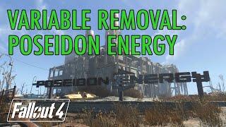 Fallout 4 - Variable Removal Poseidon Energy w Endurance Bobblehead