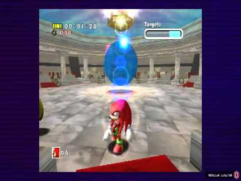 Sonic Adventure DX - Knuckles vs Chaos 2 - YouTube  Sonic Adventure...
