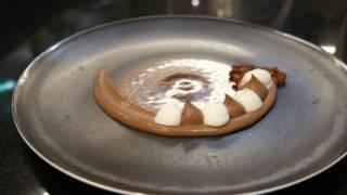 L'exquis dessert Chocolat cardamome noire de Maxime Frédéric, L'Orangerie