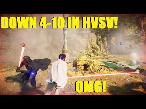 Star Wars Battlefront 2 - WHAT A CRAZY COMEBACK! | Down 4-10 in HvsV! (LANDO) thumbnail
