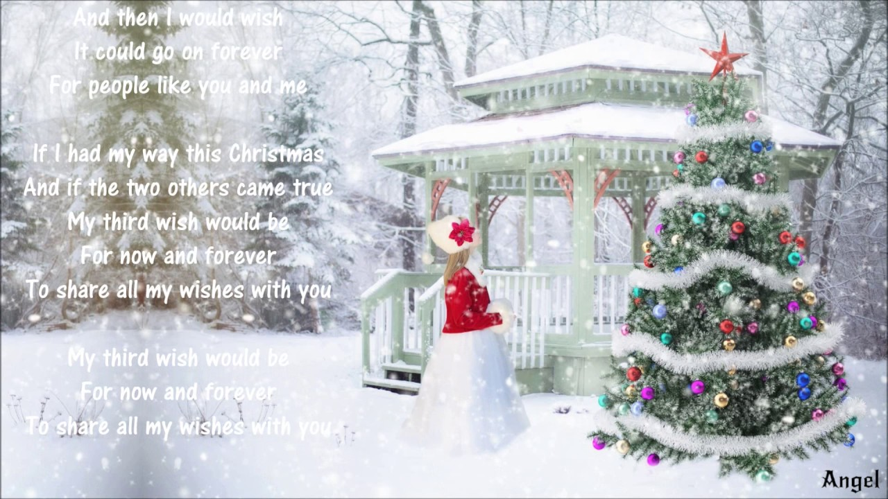 Christmas Wishes ༺♥༻ Anne Murray ༺♥༻ Merry Christmas❣ - YouTube