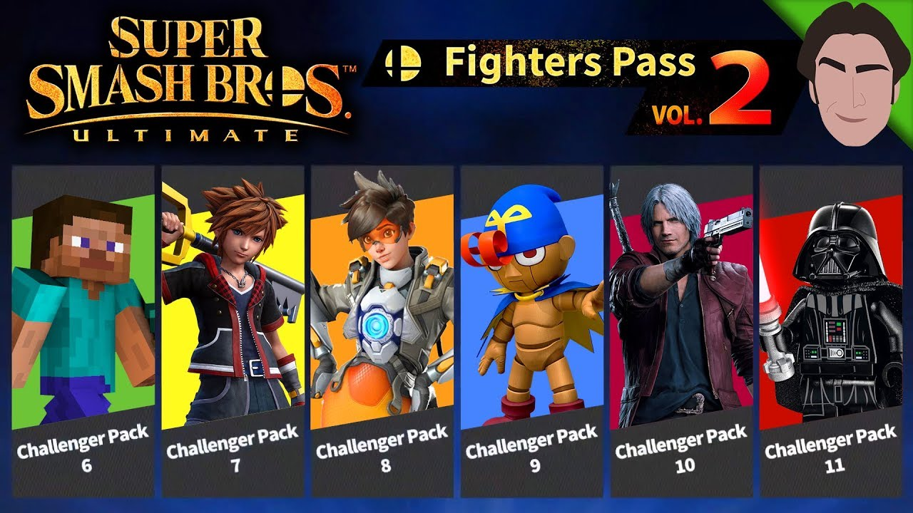 Who S Next For Fighter Pass Vol 2 Future Of Smash Bros Ultimate Dlc Youtube
