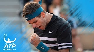 ATP Players Describe Juan Martin del Potro in One Word!