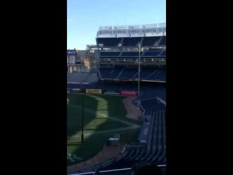 Yankee stadium tour 2014