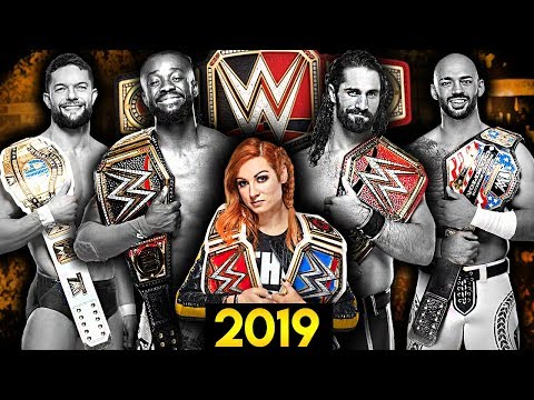 WWE Title Belts Of 2019 From WORST To BEST!