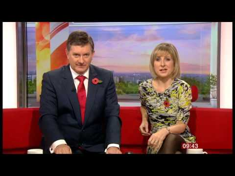 Sian LLoyd Breakfast News 2013 11 02