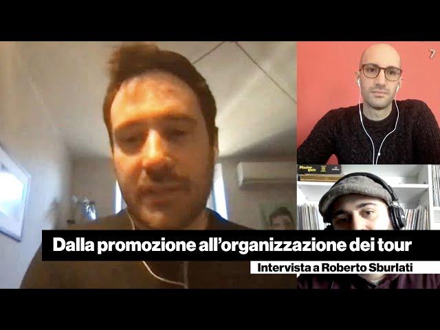 Dalla promozione all'organizzazione dei tour - Intervista a Roberto Sburlati [Libellula/Vertigo]