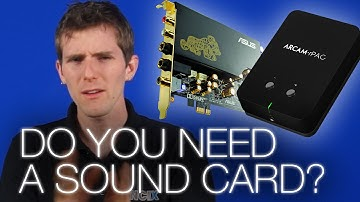 Do you Need a Sound Card?