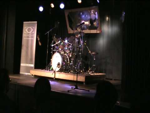 Danny Gottlieb: Drum solo at Dresden Drum Festival