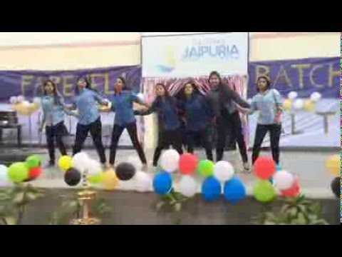 Class 12 Farewell 2016, Seth M R Jaipuria School, Lucknow - Dance performance by Class XI C