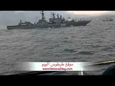 [7/1/2012] Syria, Tartous: Russian barges enter Syrian ports