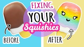Squishy Makeovers: Fixing YOUR Squishies! *READ DESCRIPTION*