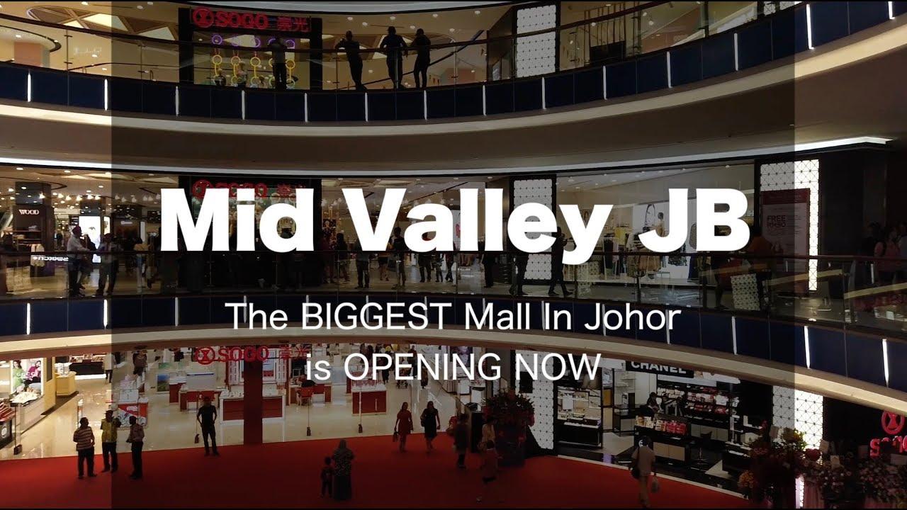 Mid Valley Johor Bahru - Opening Now! It's BIG!