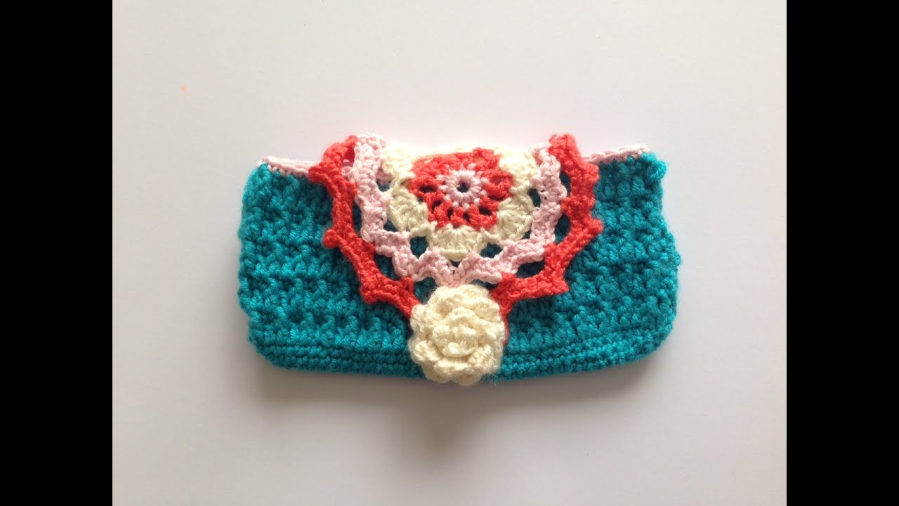 How To Crochet Cellmobile Phone Case Youtube