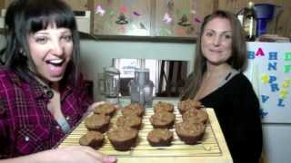Sylvia's Vegan Kitchen! Ep 16 - Orange Goji Berry Muffins!