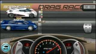 Repeat youtube video Drag Racing 7.966 Saleen S7 Twin Turbo Level 8 /14 Mile Tune