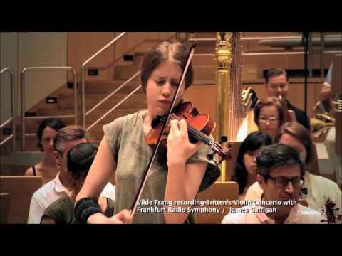 14 May: Vilde Frang plays Britten Violin Concerto with Hong Kong Sinfonietta 布列頓小提琴協奏曲