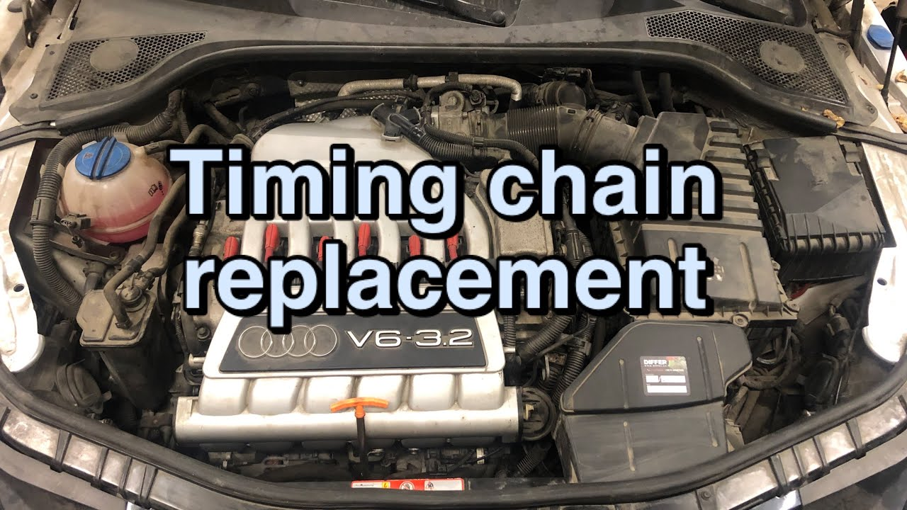 Audi TT 3.2 VR6 timing chain replacement