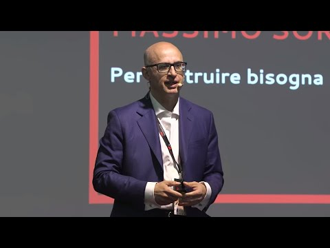 Per costruire bisogna prima rompere... gli schemi | Massimo Soriani Bellavista | TEDxMontebelluna