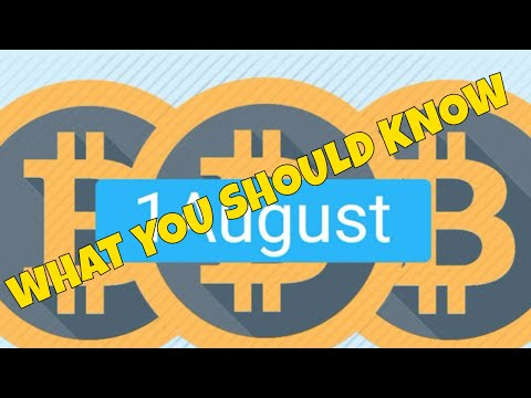 Bitcoin Fork is Upon Us August 1 Bitcoin Cash | What You Need To Know
