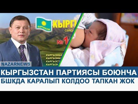 Кыргызстан партиясы боюнча маселе БШКда каралып колдоо тапкан жок