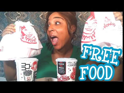 FREE WENDY'S FOOD 🍔/DOOR DASH HACK 你写的标签mukbang