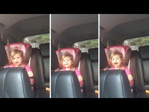 Mel Taylor - 3 Year Old Sings Bohemian Rhapsody! The CUTEST!!!