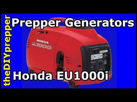 How To Buy the BEST generator - Honda EU100i generator review
