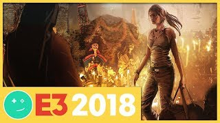 We Played Shadow of the Tomb Raider! - Kinda Funny Games Impressions E3 2018