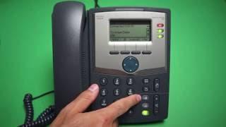 Cisco 303 - Mute/Un-mute handset