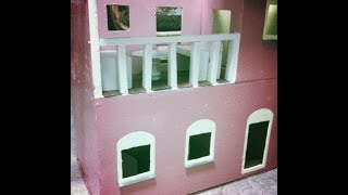 Doll House Tour Before